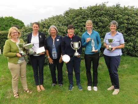 Alice takes the County Championship title for the third year in a row…