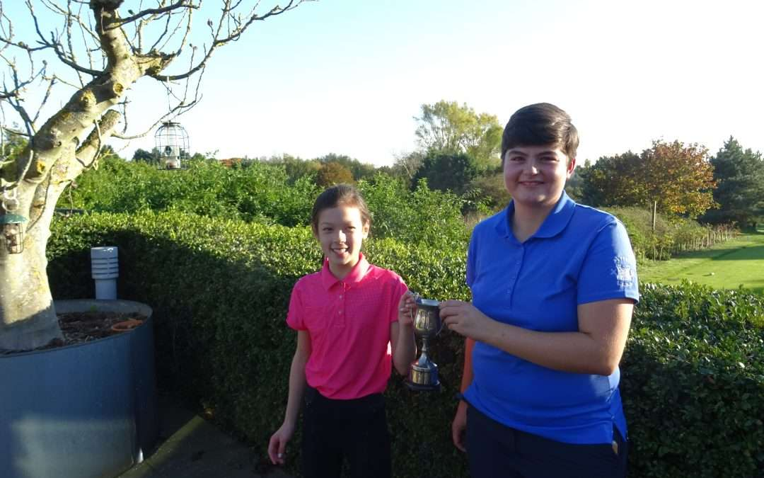 Lady & Junior Foursomes Oct 2018