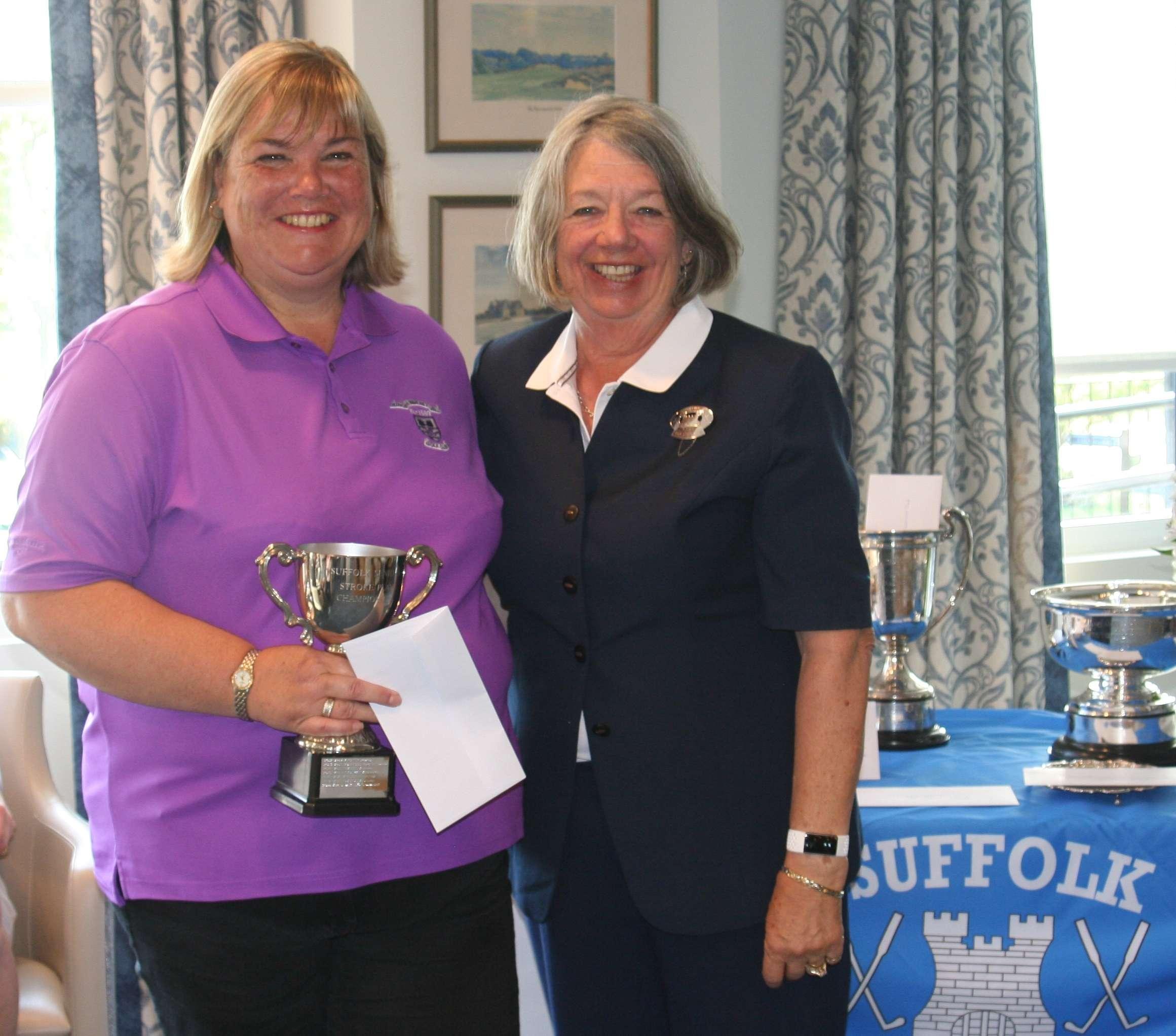 Seniors Championships - Debbie Jary