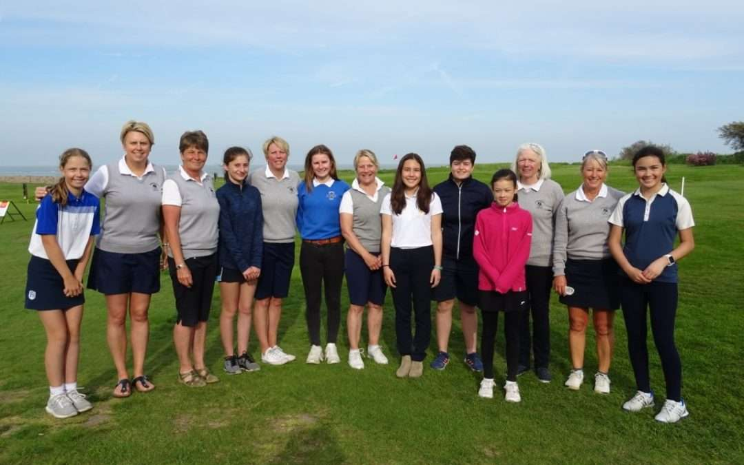 Suffolk Girls County 1st Team Vs. Felixstowe