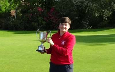 Barlow Secures fourth County Matchplay Championship