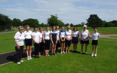 Suffolk Girls County 2nd Team Vs. Newton Green