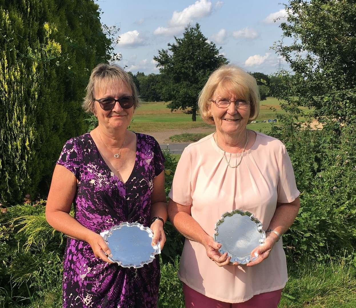 Centenary Foursomes 2019 Linda Gilham & Pam Willshere