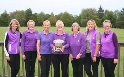 Stowmarket won the Stearn Trophy for the first time since 2006…