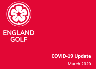 England Golf COVID-19 update