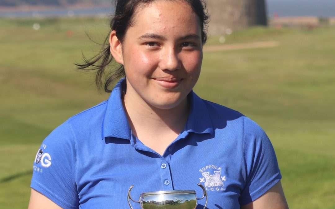 Juliette Coffey 2021 Girls Champion