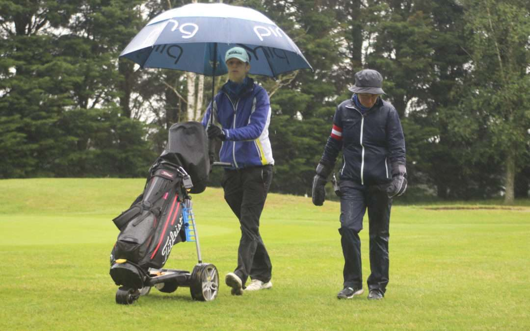 Torrential rain causes problems at County Match Week