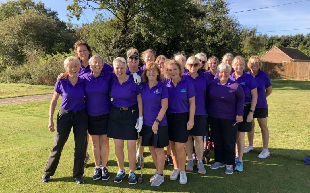 Bramford Team cruise to victory in the Cranworth Trophy