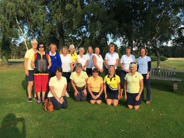 Suffolk Senior Ladies v Bedfordshire Senior Ladies