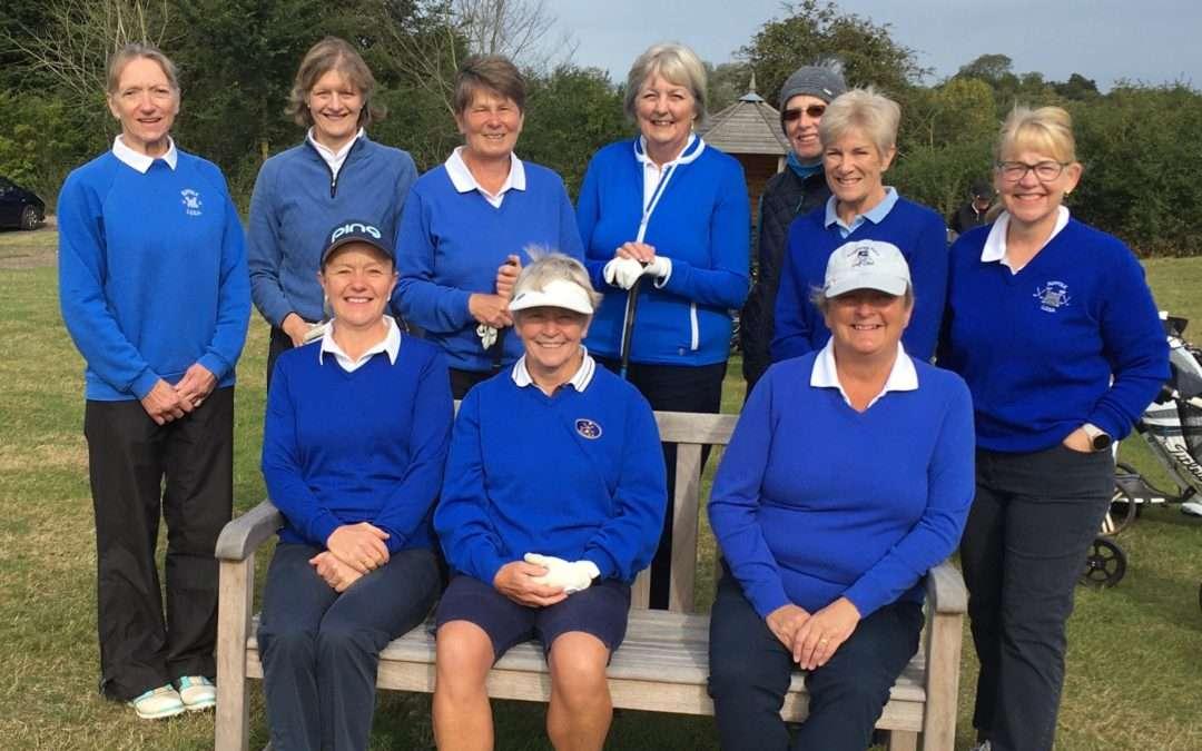 Suffolk Ladies Seniors v Norfolk Vets