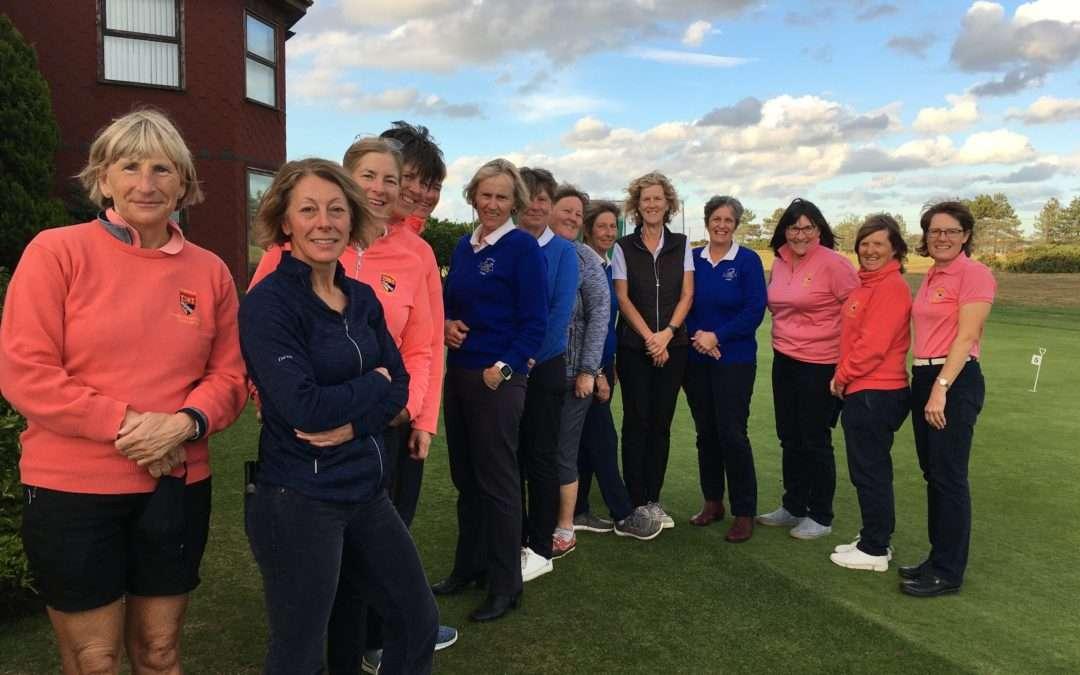 Suffolk Ladies Seniors v Norfolk Ladies Seniors